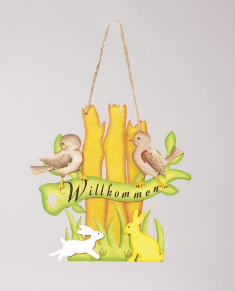 Fensterbild ''Frühlingserwachen''