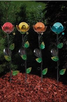 Gartenstecker ''Blume'', 4er Set