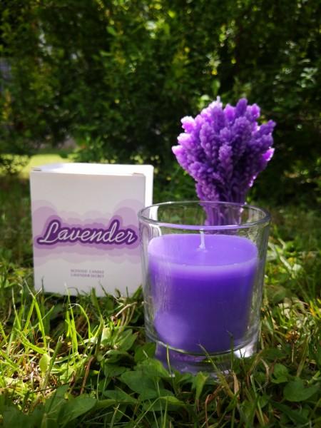 Votiv-Glas ''Lavendel''